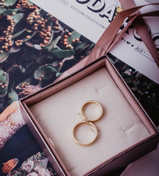 alianzas de boda originales Mi Boda Rocks
