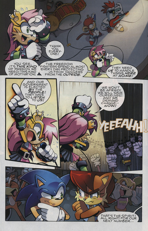 Read online Sonic The Hedgehog comic -  Issue #221 - 14