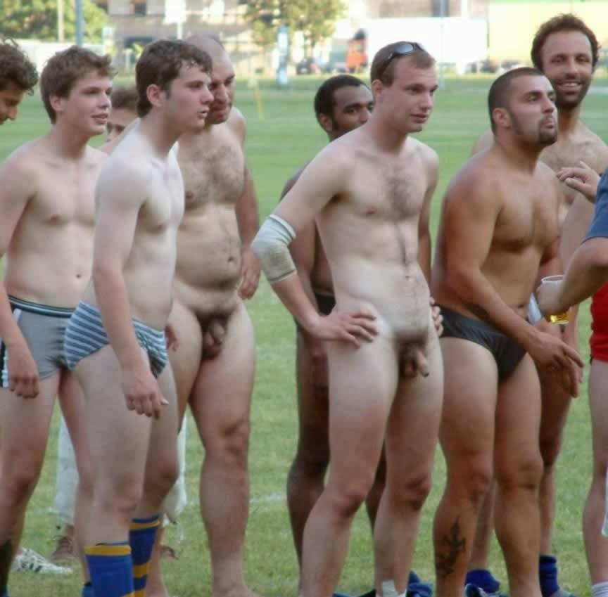 Fun nude men