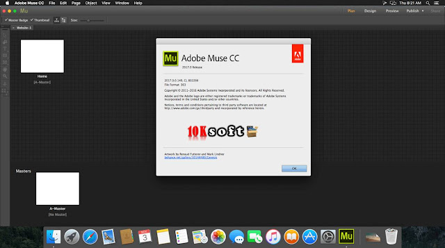Adobe Muse CC 2017 DMG File For Mac OS Latest Version Free Download