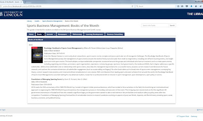 'Foundations of Managing Sporting Events' Named as 'Book of the Month'!