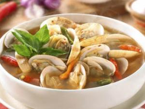 Resep Sup Kerang Jamur Pedas Sedap