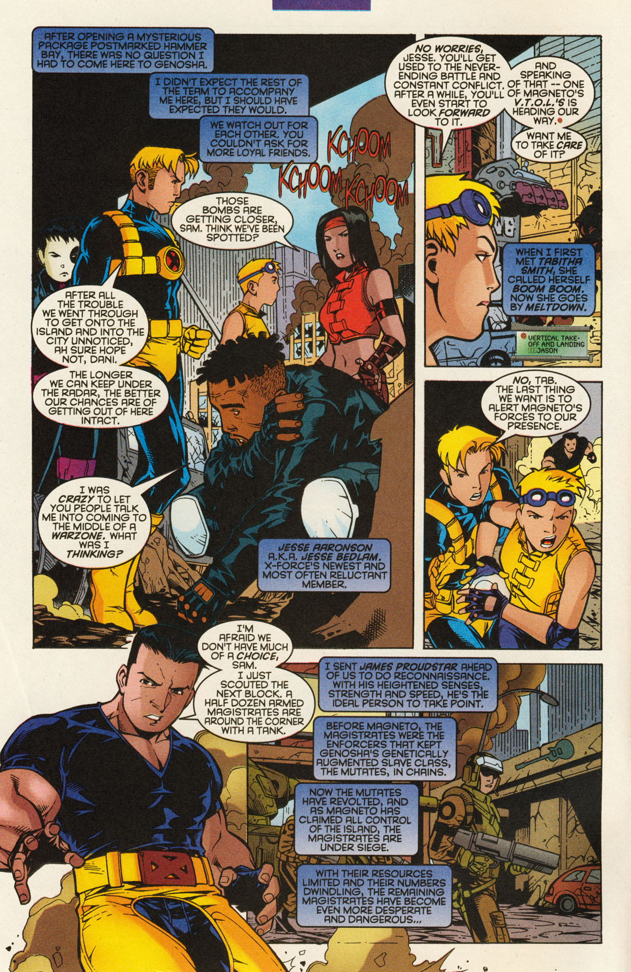 Read online X-Force (1991) comic -  Issue #94 - 4