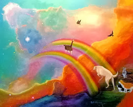 Friends, now grazing in sunny pastures on the far side of the Rainbow Bridge