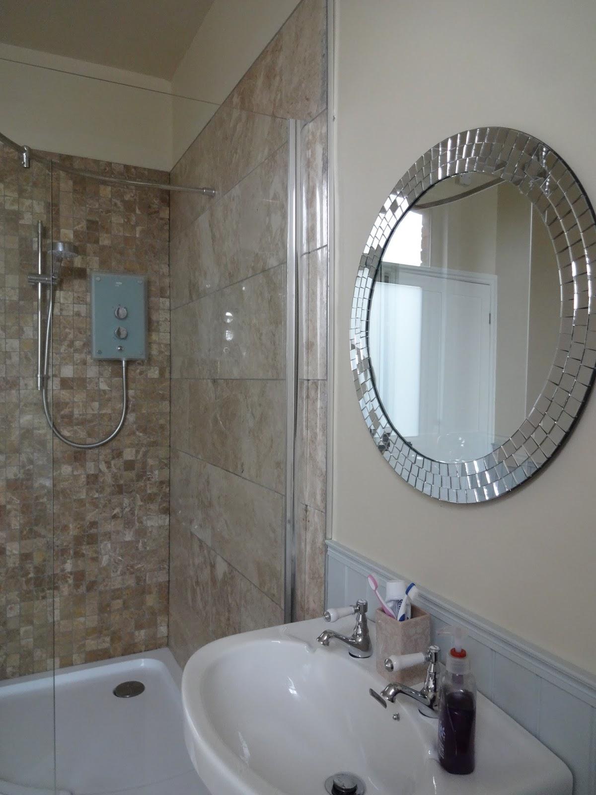 Easy Installation Bathroom Mirrors Kezzabeth Diy