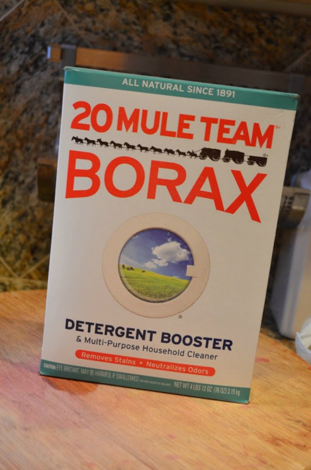How to clean a greasy Hood Vent Filter Cleaning with borax from Serena Bakes Simply From Scratch.