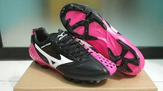 Sepatu Bola Mizuno Ignitus FG Pink