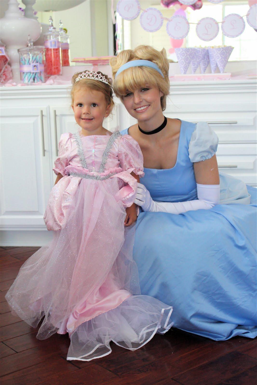 Party Princess Productions Cinderella Birthday Party