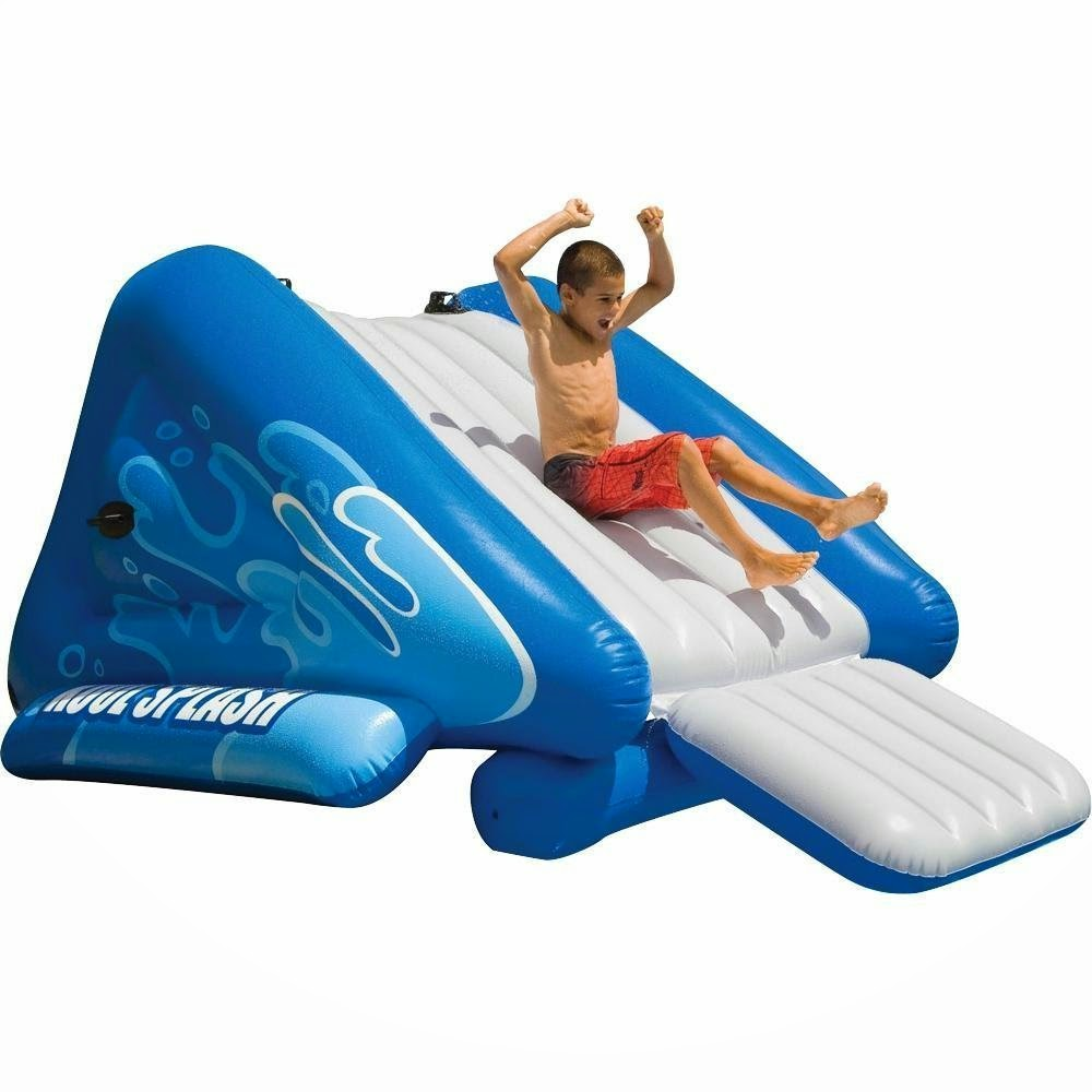 inflatable above ground pool slide. NEW Inflatable Above Ground Pool Slides Slide