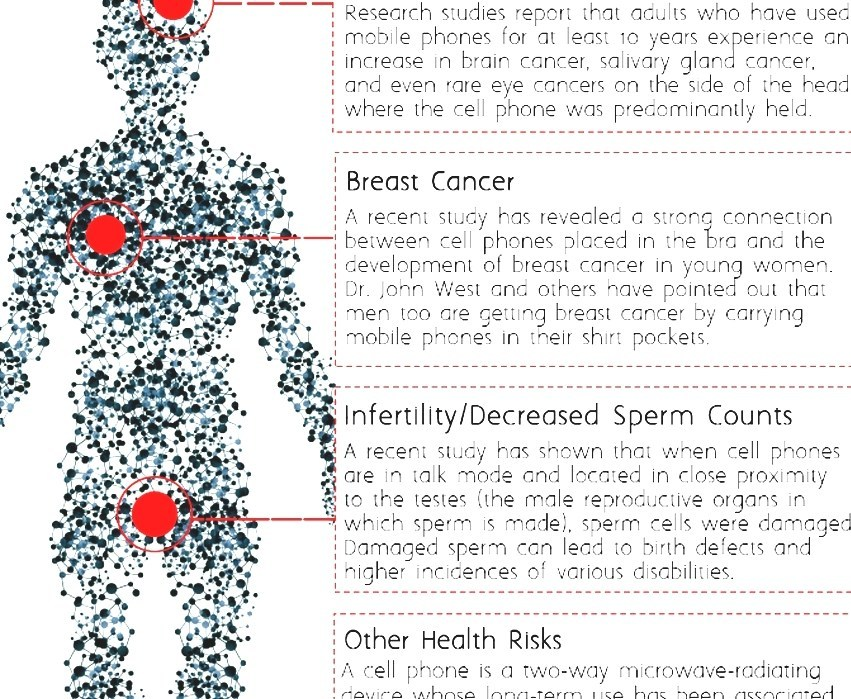 Mobile Phone Radiation And Health - Cell Phone Use And Brain