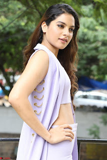 Tanya Hope in Crop top and Trousers Beautiful Pics at her Interview 13 7 2017 ~  Exclusive Celebrities Galleries 042.JPG