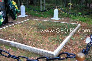 Лисички на братской могиле 106 еврейского партизанского отряда