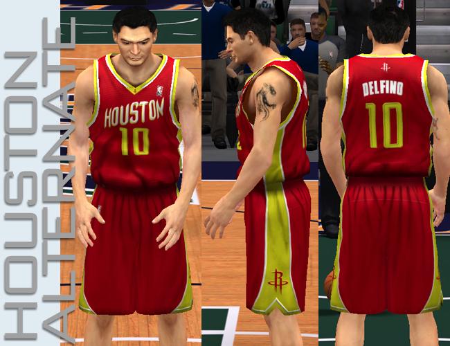 NBA 2K13 Houston Rockets All Jerseys Patch - NBA2K.ORG 1a648912b