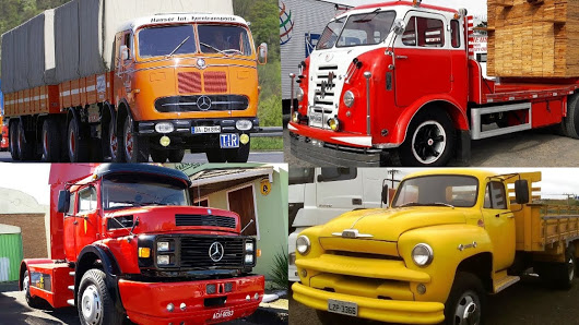 استمتع بمشاهدة اجمل الشاحنات الكلاسكية القديمة.