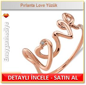 Pırlanta Love Yüzük