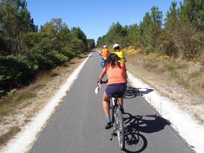 rutas en bici por las landas