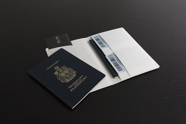 可水洗牛皮紙 護照夾 Washable Passport Sleeve