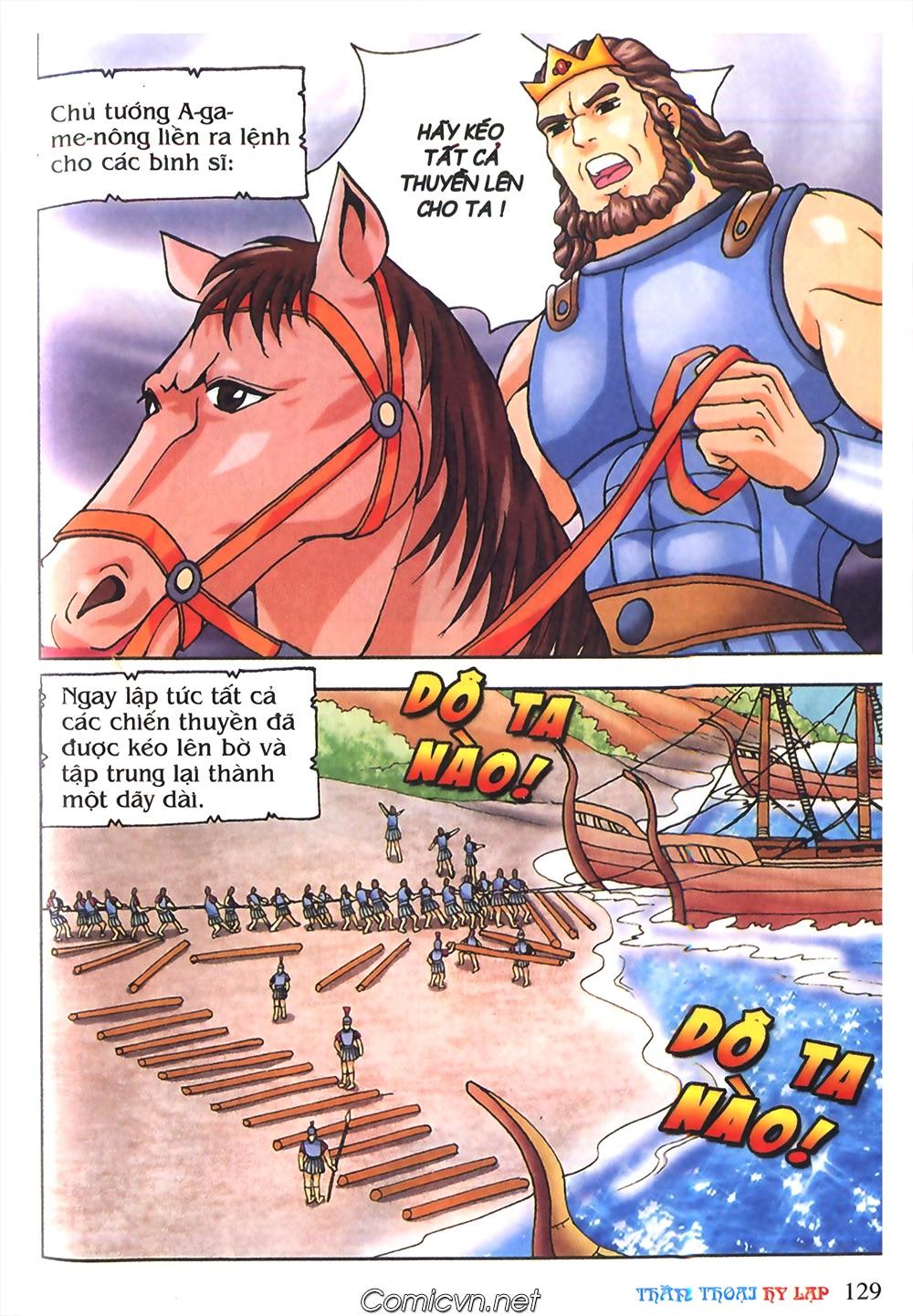 Thần Thoại Hy Lạp Màu - Chapter 55: Trận chiến đầu tiên - Pic 33