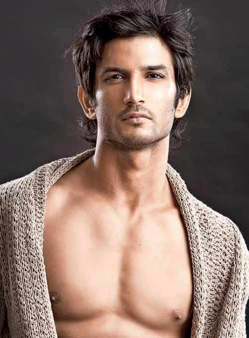 Shirtless Bollywood Men: Sushant Singh Rajput