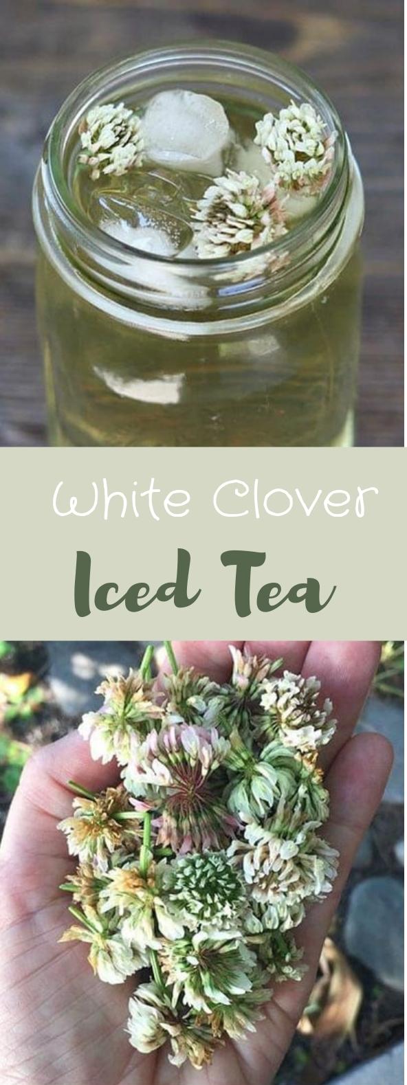 White Clover Iced Tea #icedtea #drinks