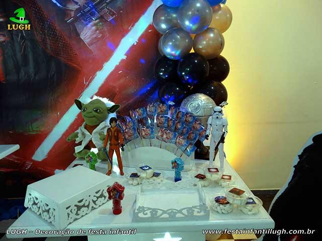 decoração tema Star Wars