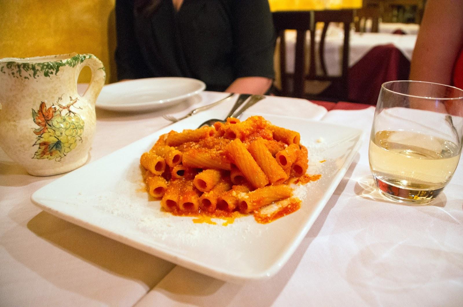 Pasta on Secret Food Tour Rome