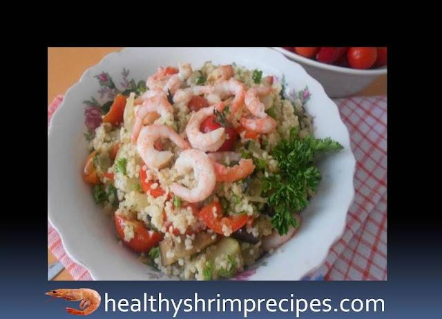 Couscous with shrimp recipe