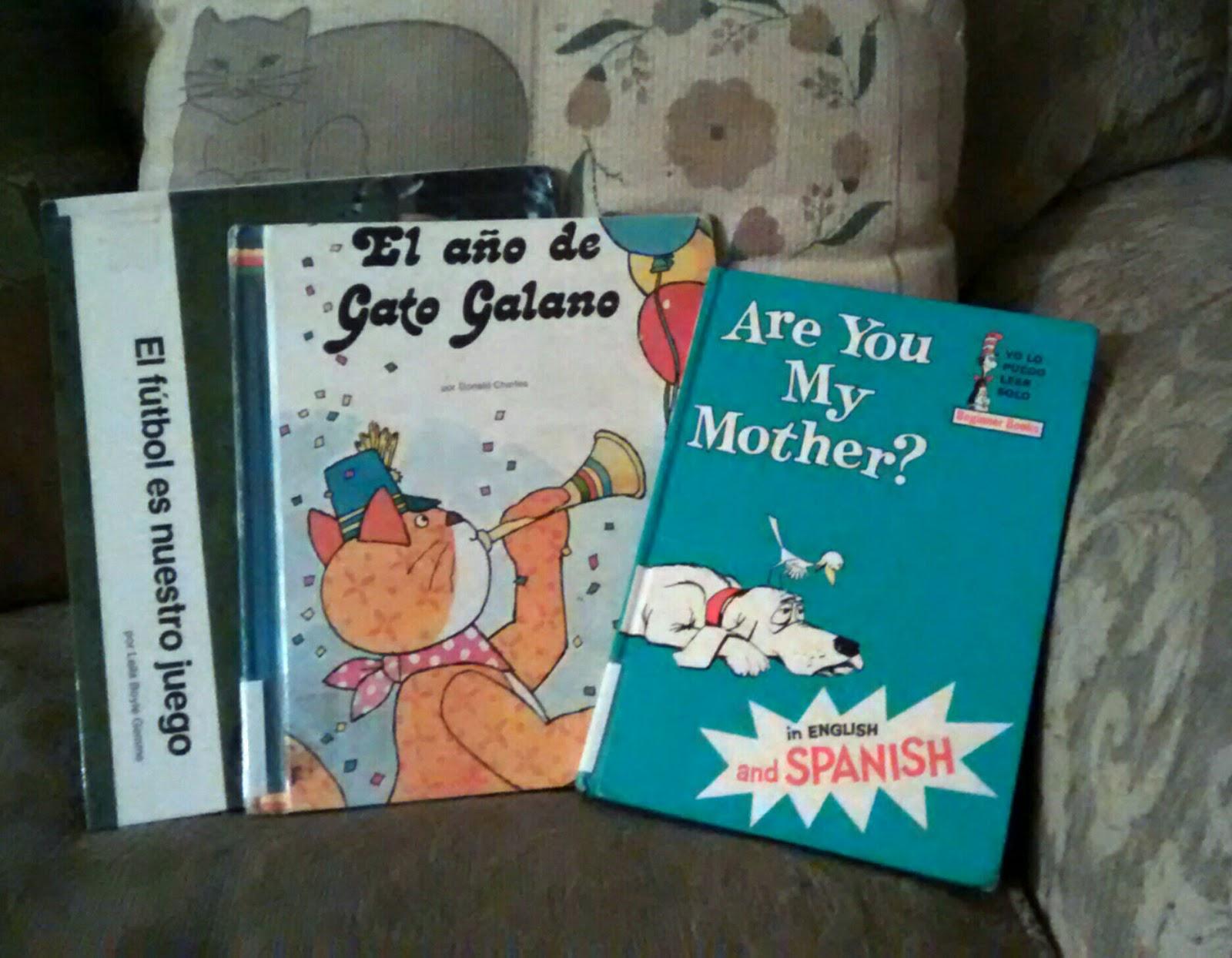 CynthiaParkhill: Leyendo Libros Para Niños, En Español