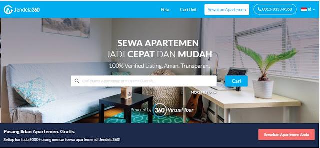 Jendela360.com - Sewa apartemen jadi cepat dan mudah