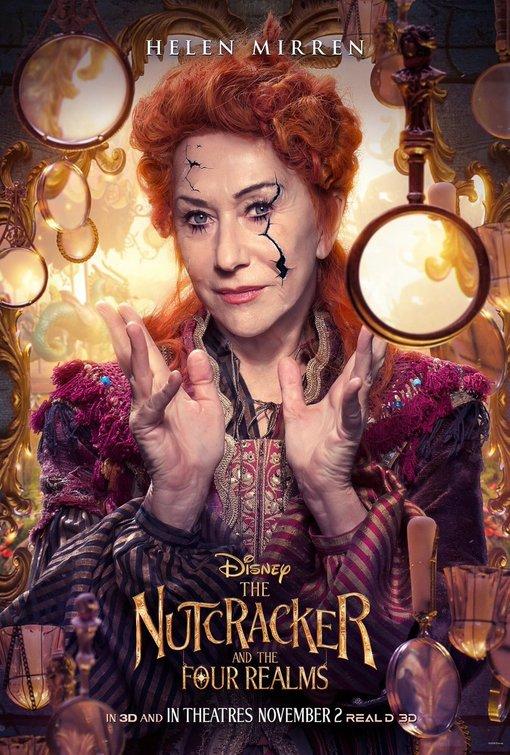 Nutcracker Four Realms mother ginger poster