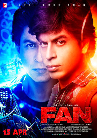 Poster of Fan Full Hindi Movie Download Hd