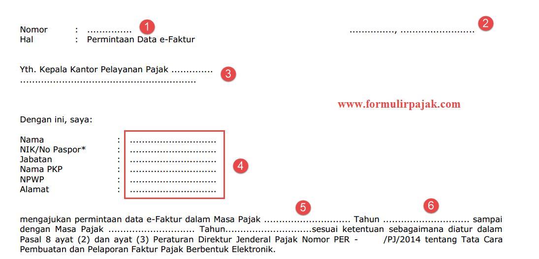 Contoh Surat Permintaan Data Ke Kantor Pajak Contoh Seputar Surat