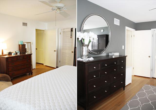 Before & After Bedroom Makeover