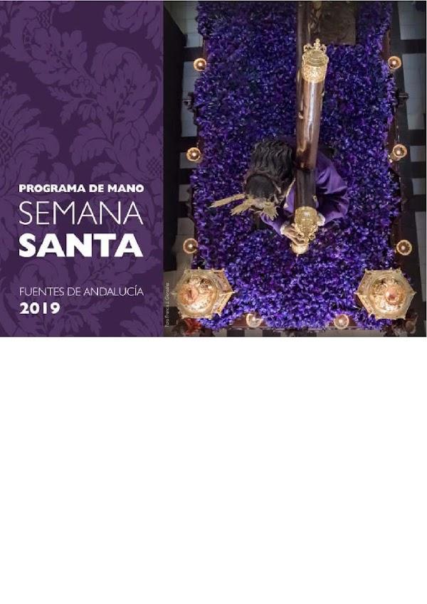 Programa, Horarios e Itinerarios Semana Santa Fuentes de Andalucía (Sevilla) 2019