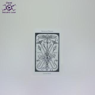 The Hermetic Tarot - 7 of Wands