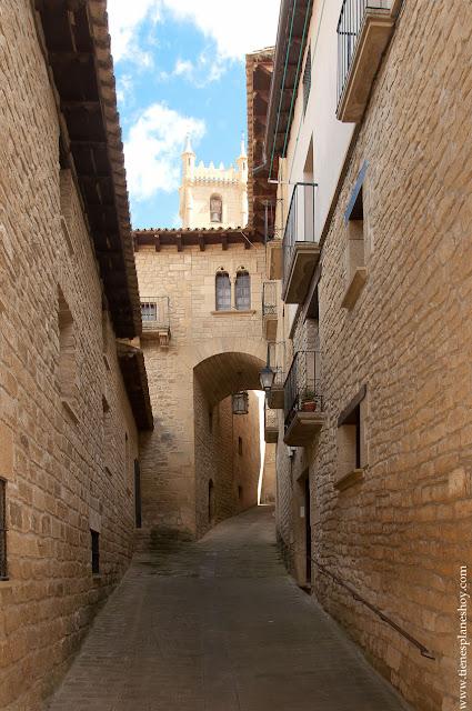 Uncastillo casas señoriales CInco Villas Zaragoza