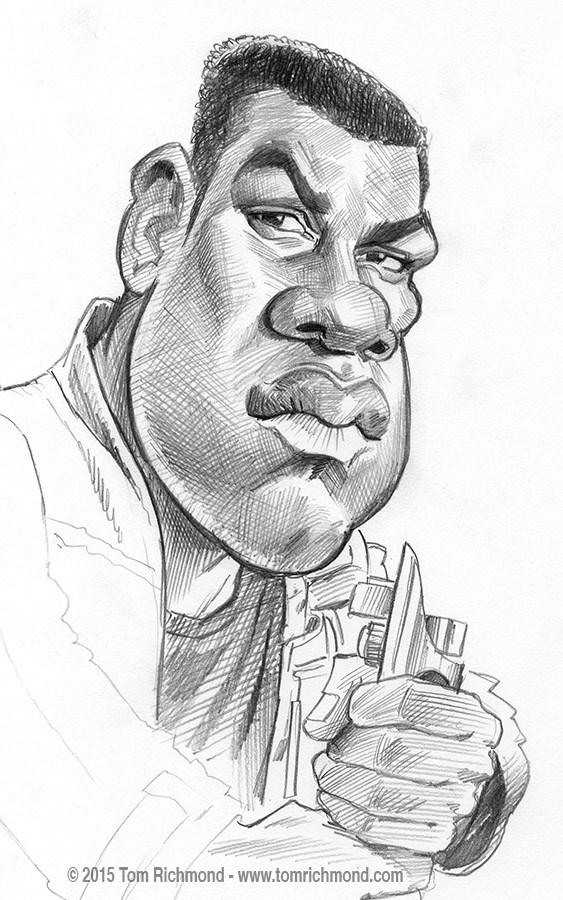 John Boyega por Tom Richmond