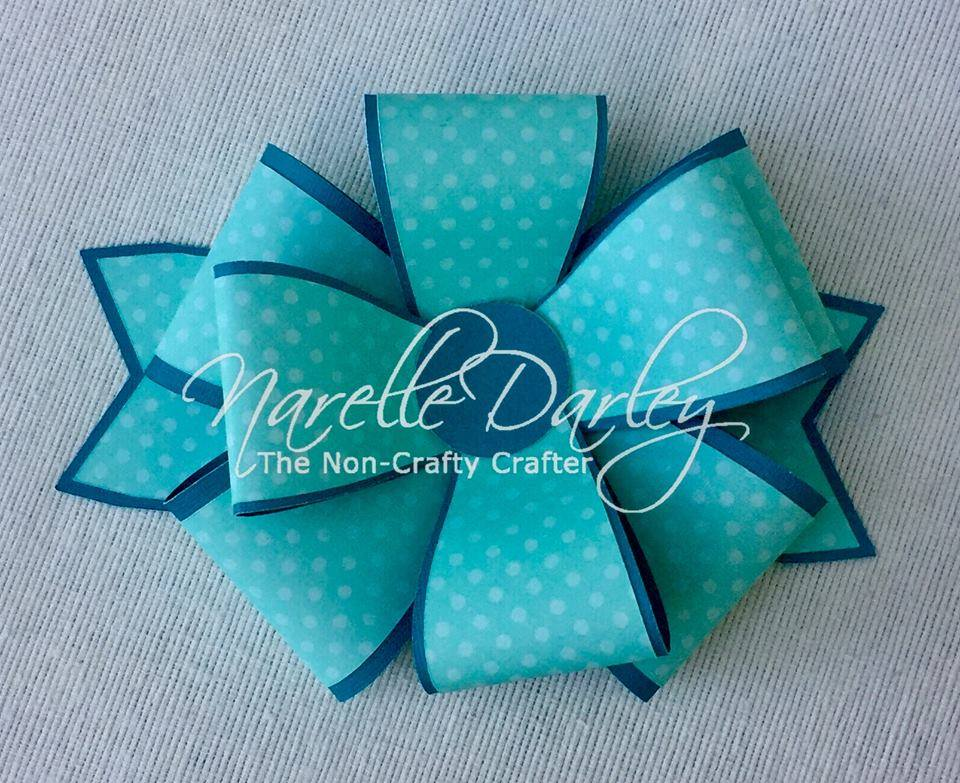 The Non Crafty Crafter Free Design Space Bow Cutting File