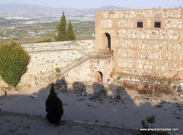 Interior del Castillo de Salobreña
