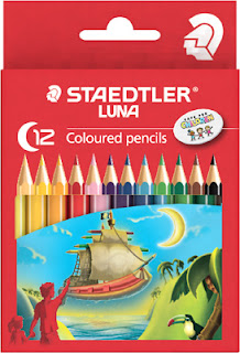 Staedtler Luna coloured pencils C-12