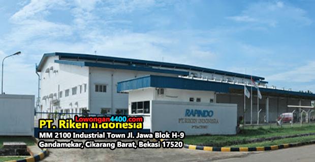 Lowongan Kerja PT. Riken Indonesia (Rapindo) Cikarang