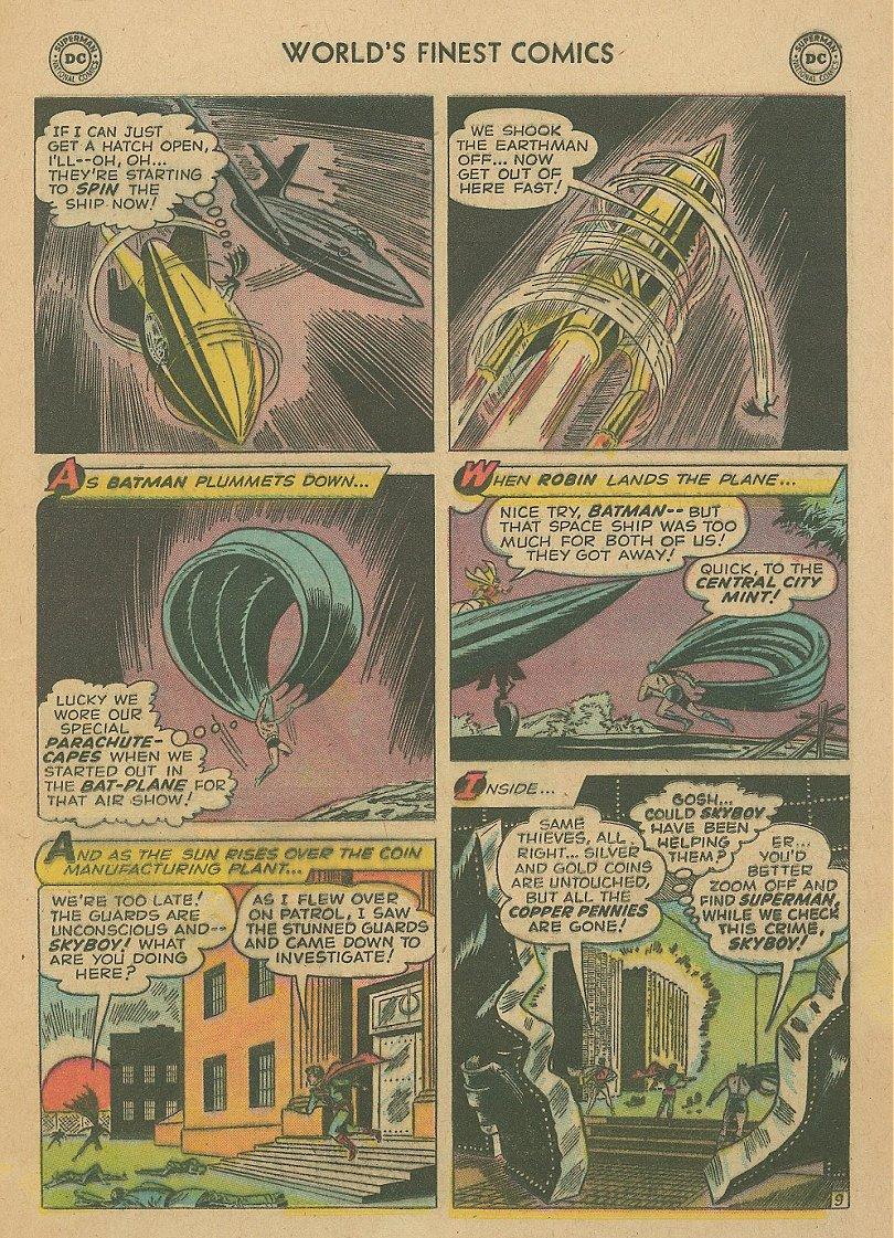 Read online World's Finest Comics comic -  Issue #92 - 24
