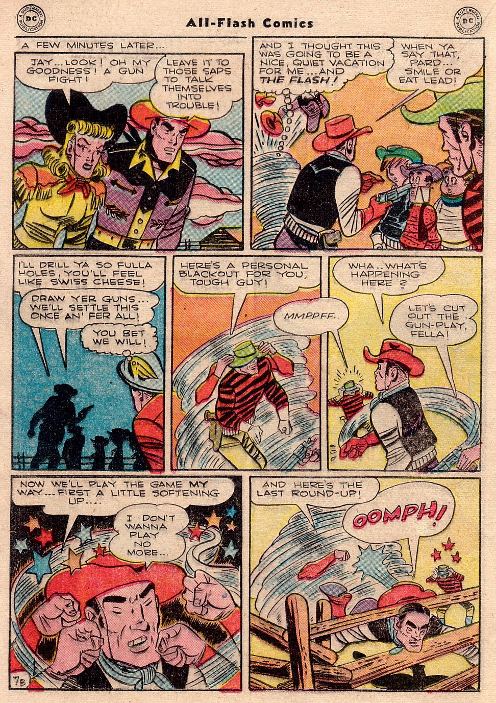 Read online All-Flash comic -  Issue #23 - 23