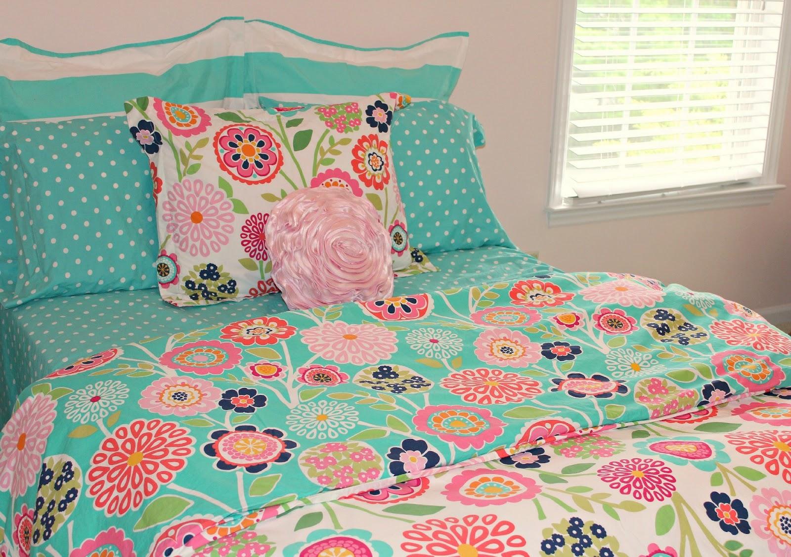 Carolina On My Mind Big Girl Bedroom Seaside Floral Bedding