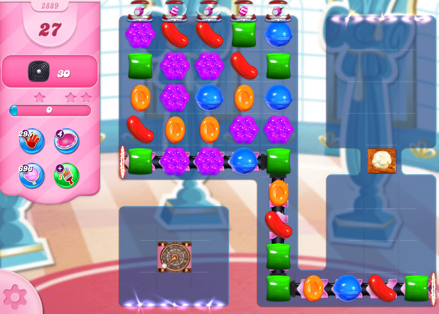 Candy Crush Saga level 2889