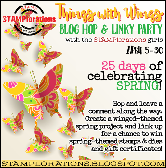 Stamplorations Things With Wings Party