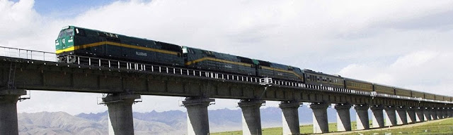 ¡Ferrocarril de Qingzang, el más alto del mundo!