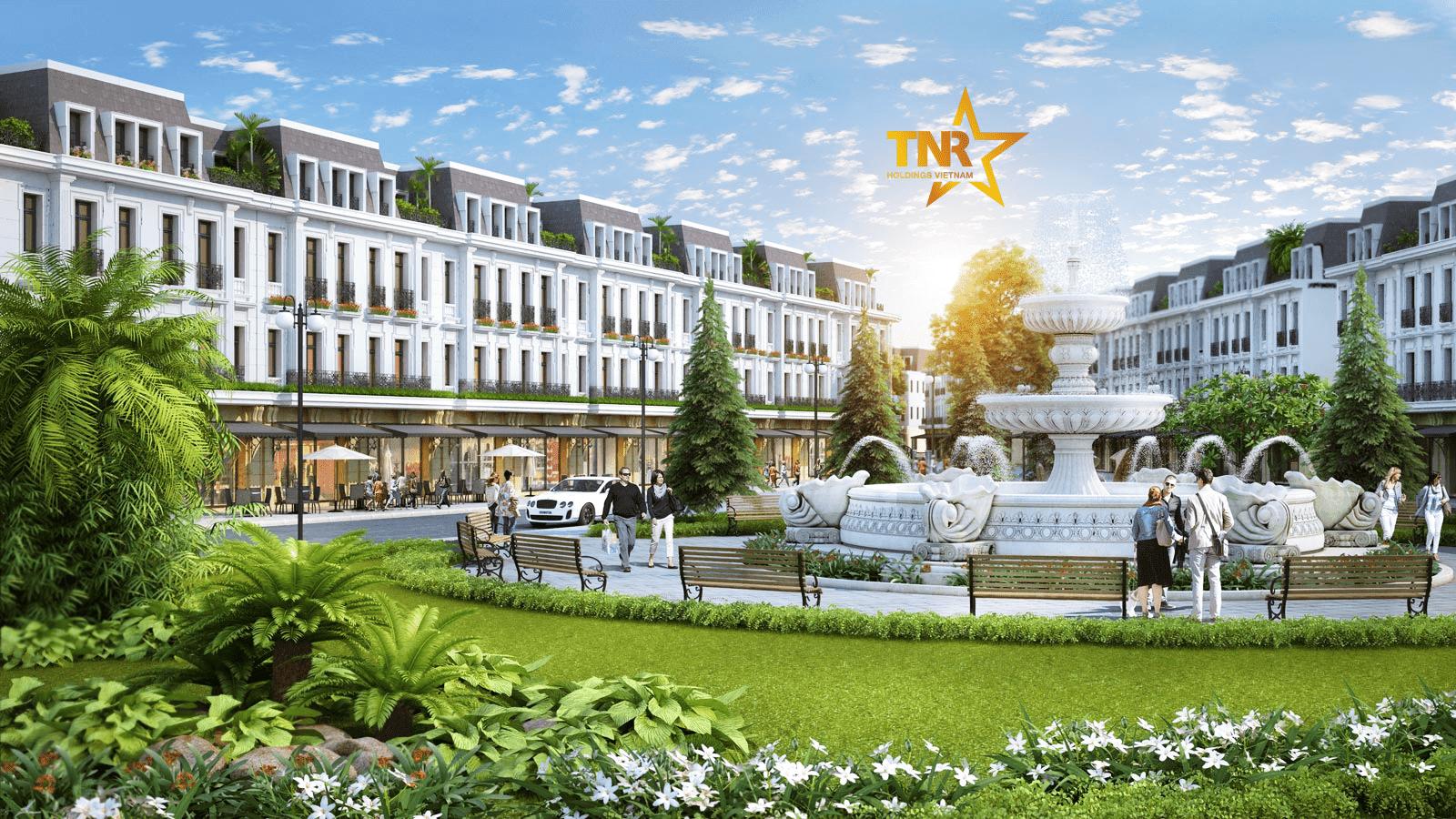 Shophouse dự án TNR Stars Ngô Quyền Bắc Ninh