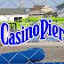 Update 2: Mais imagens da chegada da nova montanha russa misteriosa ao Casino Pier