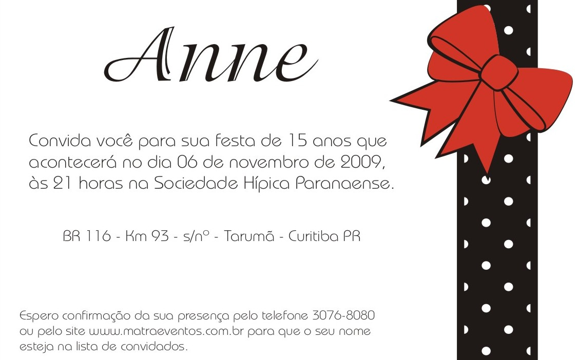 Frases De Aniversario De 17 Anos: Letícia Panichi: Convites De Aniversário